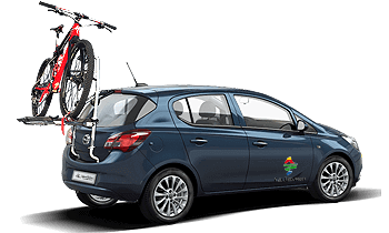 Opel Corsa Bike carrier