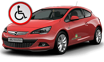 Adapted Opel Astra